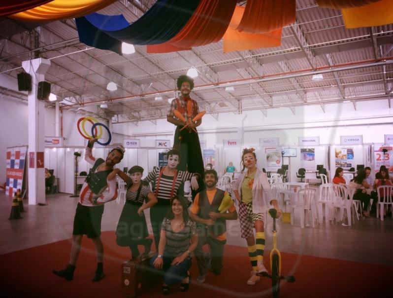 Artista Circense para Evento no Alto da Lapa - Contratar Artistas de Circo