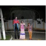 atrações circenses para eventos em sp no Jardim Atibaia