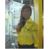 orçamento de contratar hostess bilíngue Moema