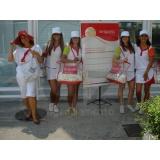 recepcionista para feiras e eventos em Araraquara